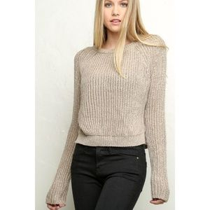 BRANDY MELVILLE Gwen Knit Pullover Sweater